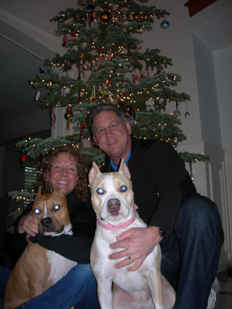 Pam, Tim, Zuzu and Clyde